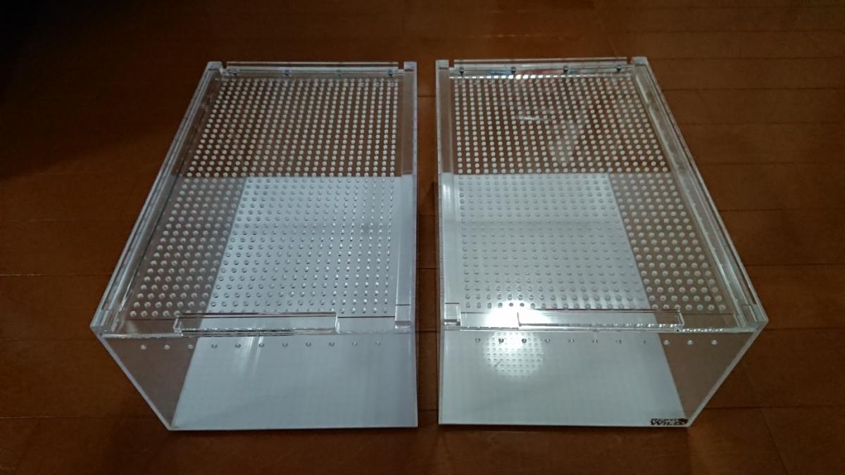 爬虫類 飼育ケース レプタイルボックス 4個セット