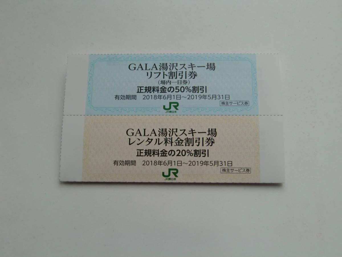 ガーラ湯沢スキー場  リフト50%割引券&スキーレンタル20%割引券セット_画像1
