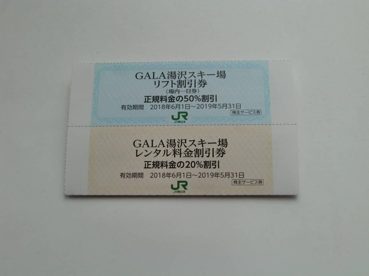 ガーラ湯沢スキー場  リフト50%割引券&スキーレンタル20%割引券セット_画像2