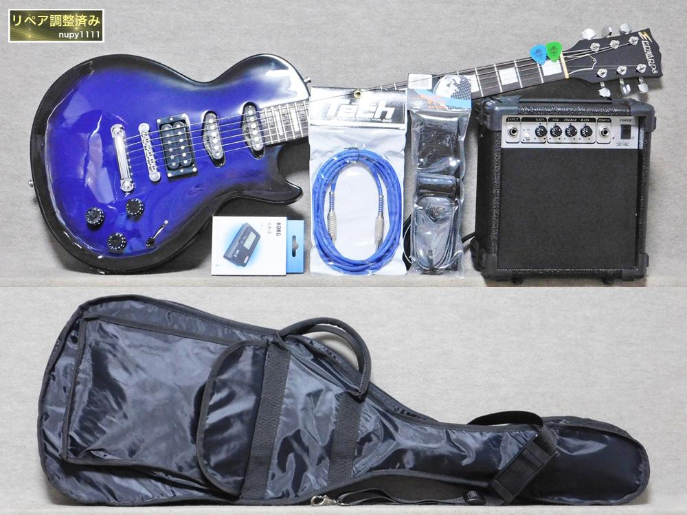 ギター入門セット EDWARDS イノランLP3+アンプ、チューナー等_画像1