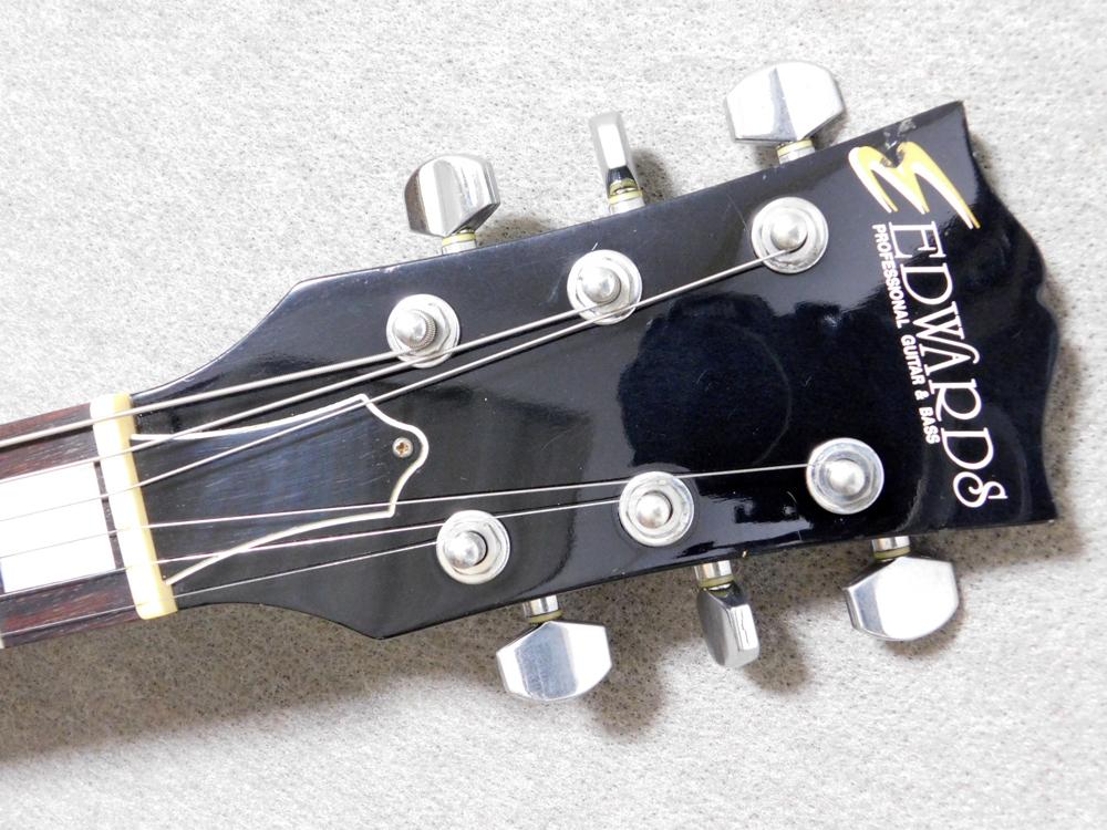 ギター入門セット EDWARDS イノランLP3+アンプ、チューナー等_画像4