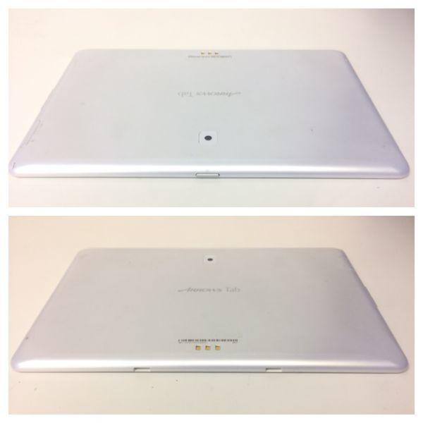 docomo/ドコモ Fujitsu ARROWS Tab F-02F ホワイト 〇判定 稼動品_画像3