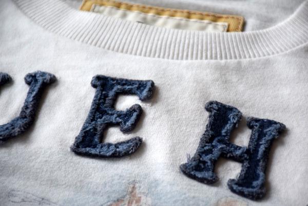 美品 希少 レア物 BLEECKER STREET NEW YORK CITY RUEHL No.925 正規品 半袖 メンズ Tシャツ ルール ナンバー925 アバクロの上級ブランド_画像3