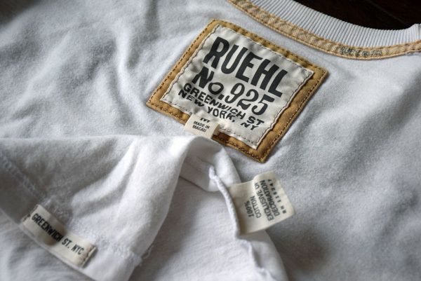 美品 希少 レア物 BLEECKER STREET NEW YORK CITY RUEHL No.925 正規品 半袖 メンズ Tシャツ ルール ナンバー925 アバクロの上級ブランド_画像5