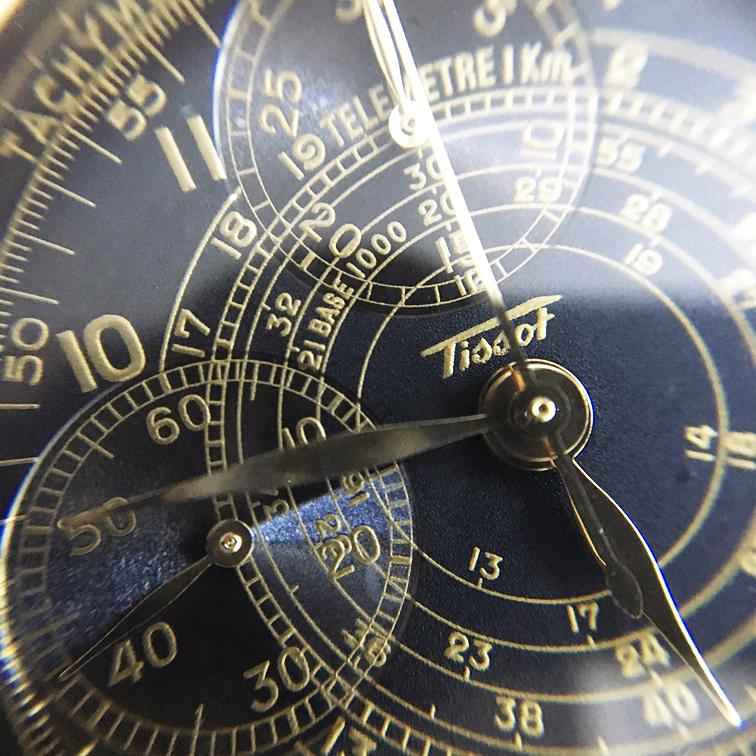 超レア!超極上!世界限定3333本!1935年 クロノジャネイロ 復刻版 COSC 公認 クロノメーター バルジュー Valjoux 7765 シースルーバック_画像2