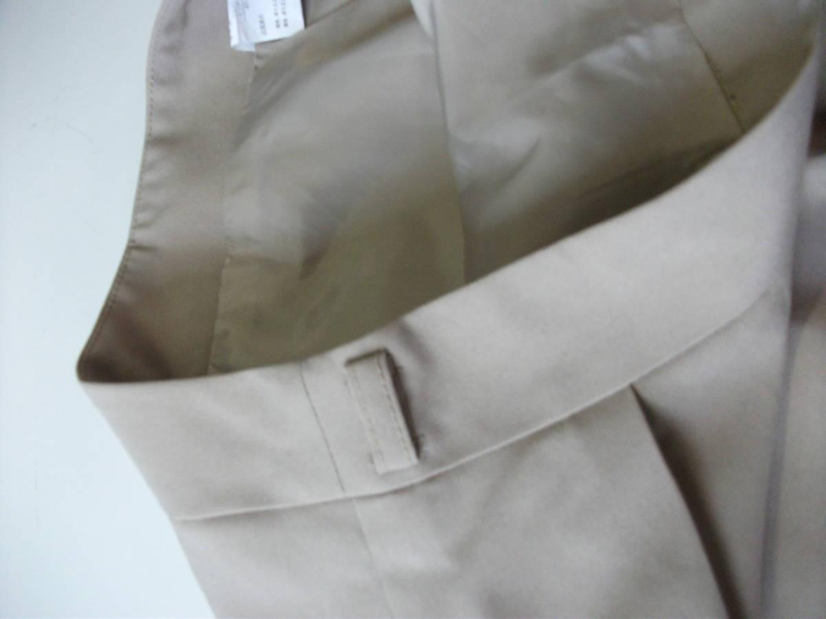 新品 W67㎝ 洗えます ソフトなプリーツスカート オールシーズン着用可 ベージュ 通勤・ビジネス Wa88_画像6