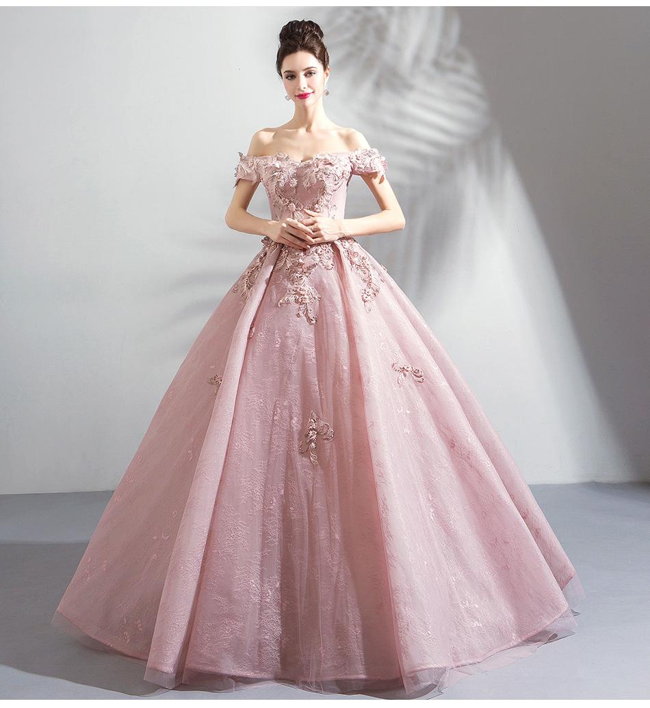 071d4b1b8622f 素敵なウエディングドレスカラードレス ピンク 結婚式 披露宴 二次会 演奏会 発表会 ステージ