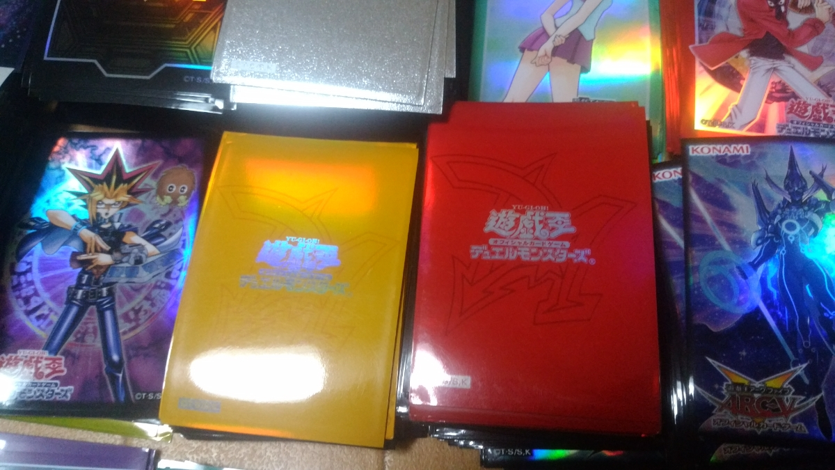 遊戯王 大量まとめ売り6万枚以上 初期、二期、高レート大量 デッキ20個以上 スリーブ絶版大量_画像8