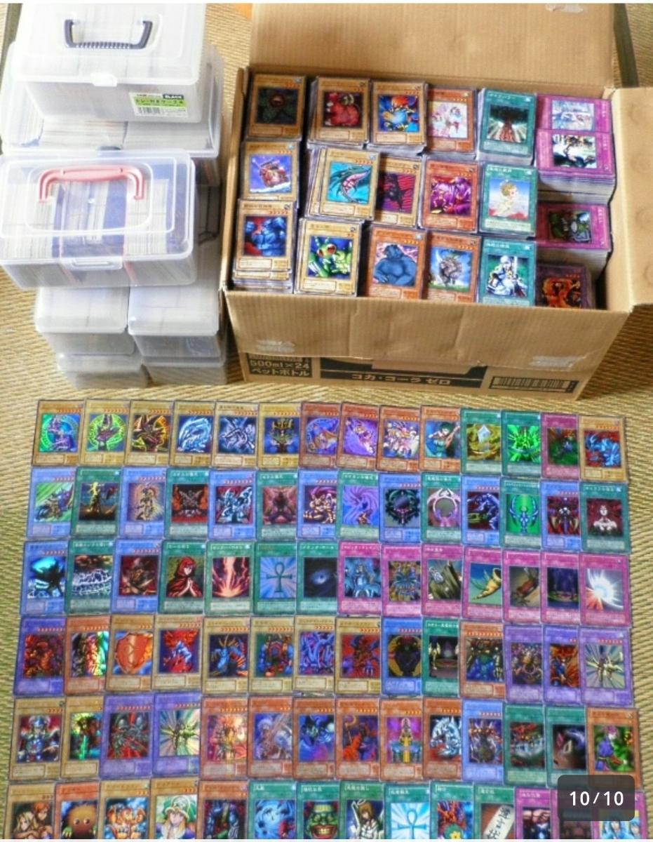 遊戯王 コレクター、プレイヤー引退 合計6万枚以上 _画像3
