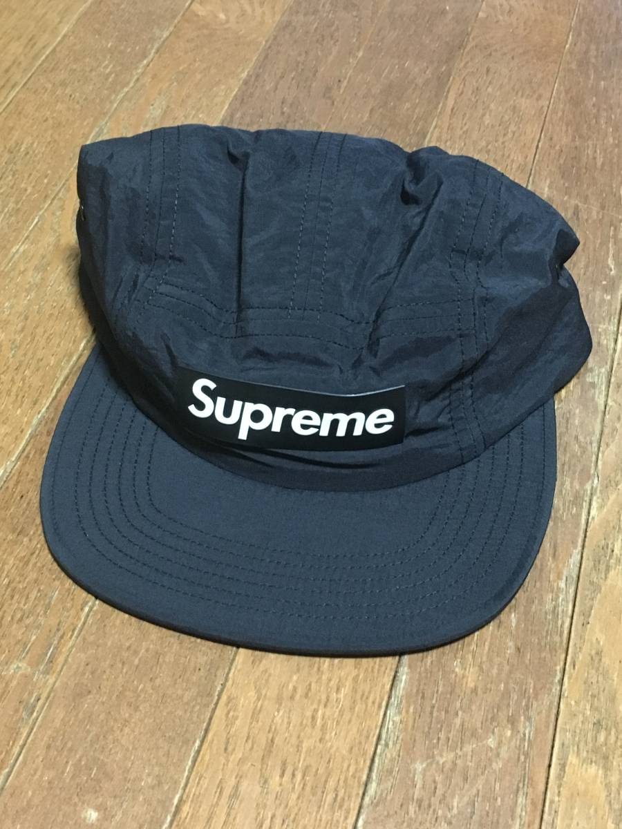 472dcce9 Supreme 18 SS Raised Logo Patch Camp Cap Black S / M New unused half tag  attached. Online purchase. Please refrain from those who are concerned  about the ...