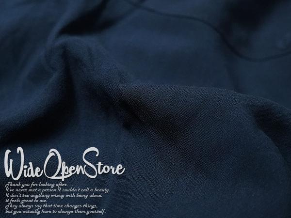 【新品】 オープンカラーシャツ 無地 レーヨン ■ XLサイズ / ネイビー 紺 ■開襟 ソリッドカラー 無地アロハシャツ インスタグラム 流行_画像7
