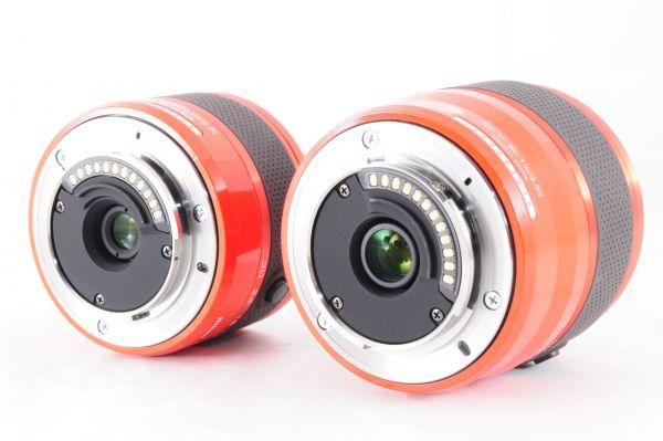 新同品■ニコン【 Nikon 1 J2 】可愛いオレンジ■ダブルズームキット■最高コンディション■付属品完備 カメラ・レンズ 保証書付 #162_画像9