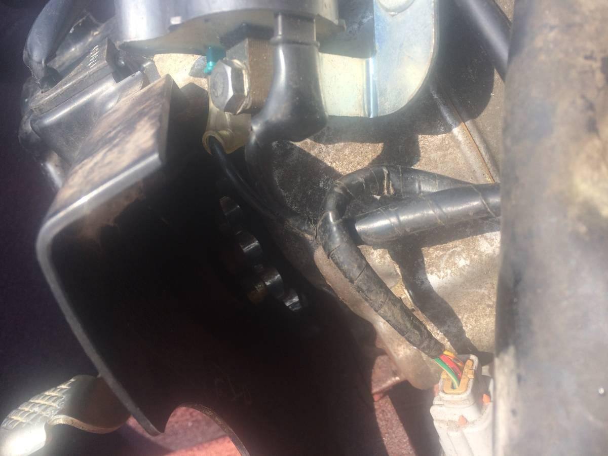 早期終了相談可 スーパーカブ AA01 FI 50cc 走行距離1万キロ程のエンジンASSY ハーネス ECU インジェクター等完備 実働外し 動画撮影済み_画像6