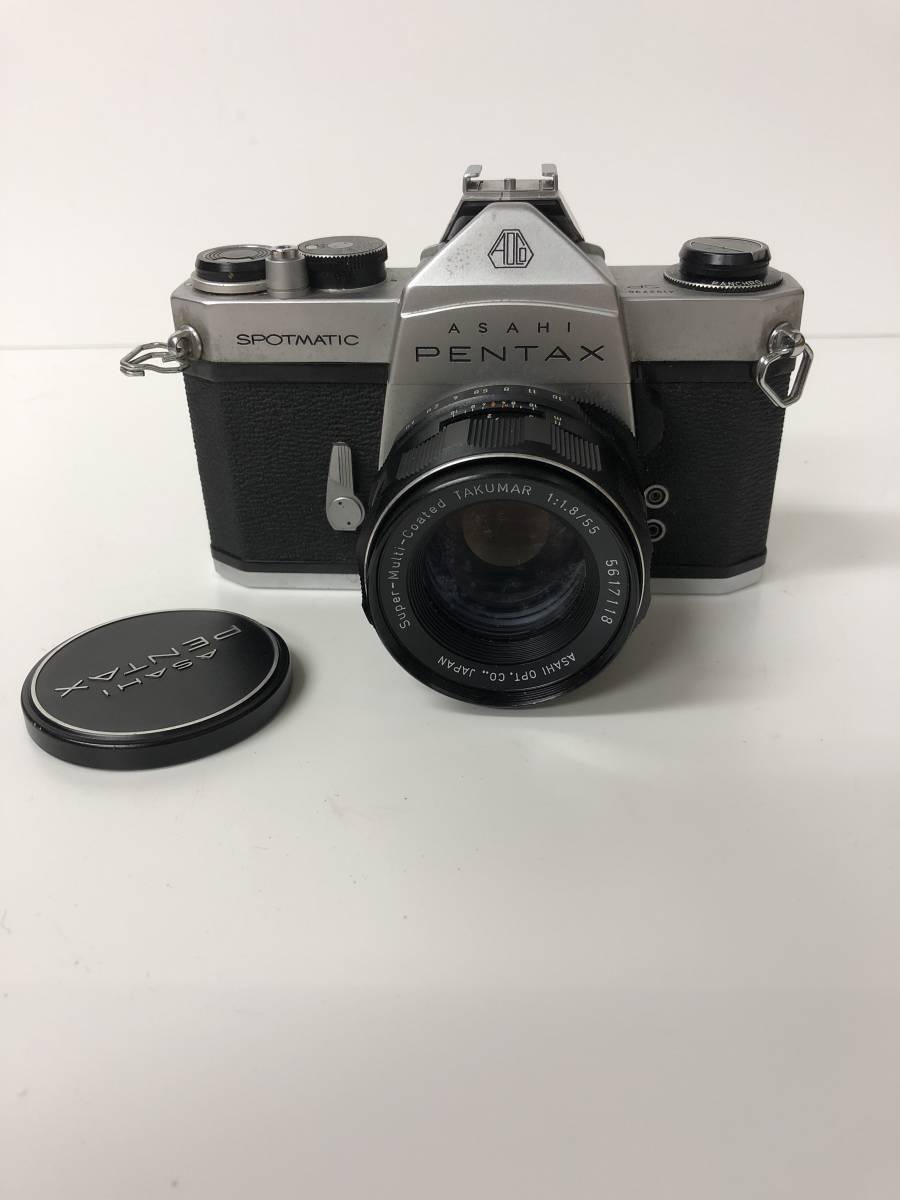 カメラ PENTAX ペンタックス SPOTMATIC SP+1:1.8/55 ke612