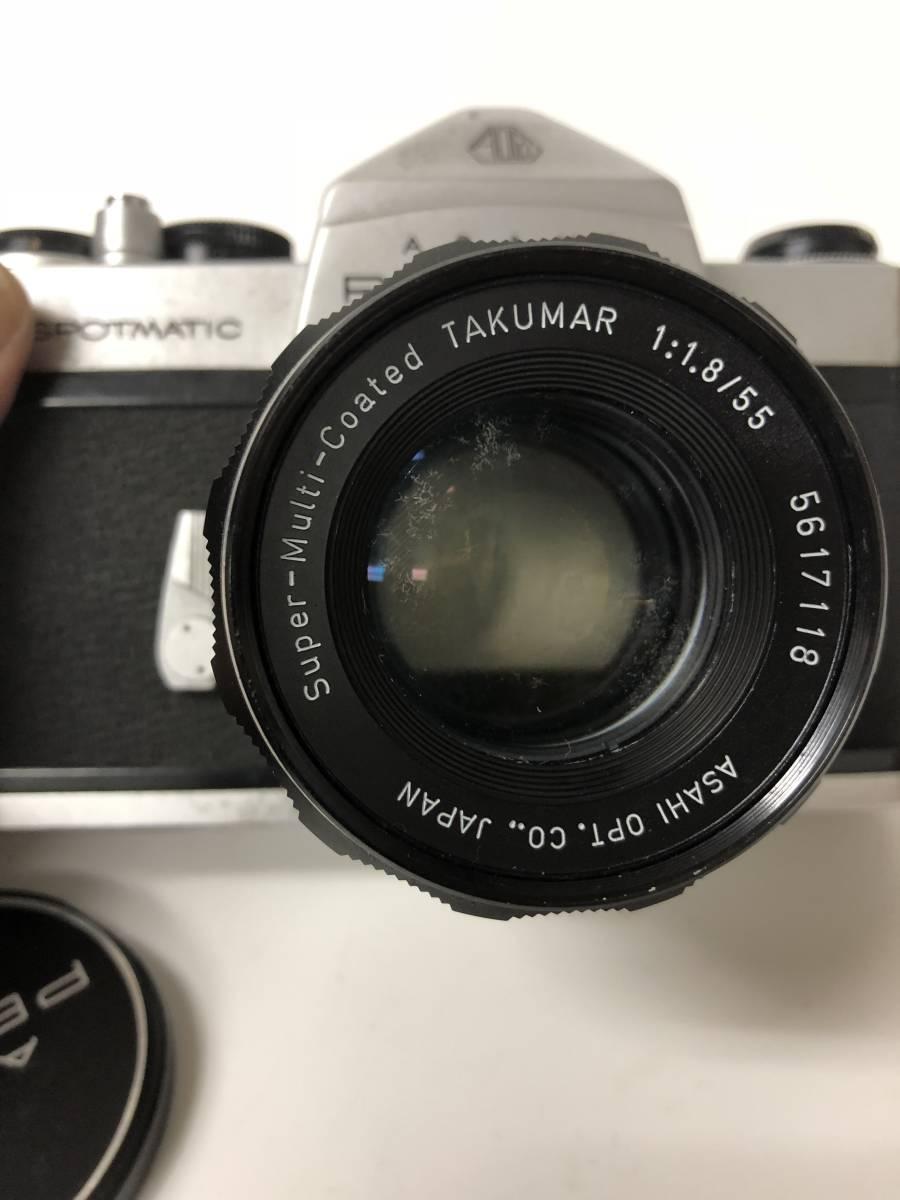 カメラ PENTAX ペンタックス SPOTMATIC SP+1:1.8/55 ke612_画像2