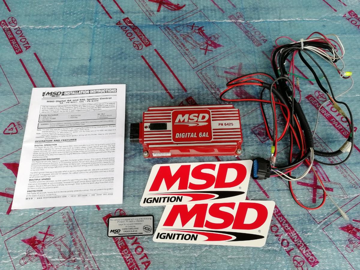 MSD6AL AE86 4AG KP61 サニトラ ハコスカ 美品_画像1