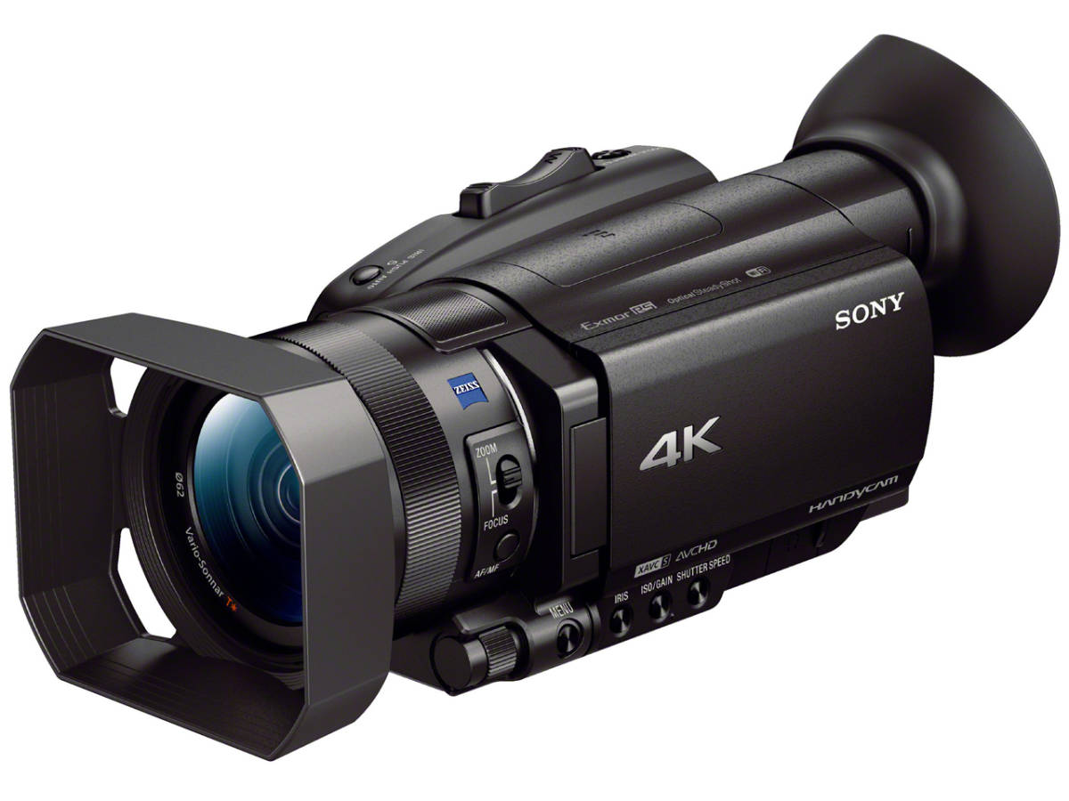 SONY FDR-AX700 レンタル3日間  ※送料無料(一部地域を除く)  4K ビデオカメラ ◆新商品◆_4K AX700 レンタル 3日間