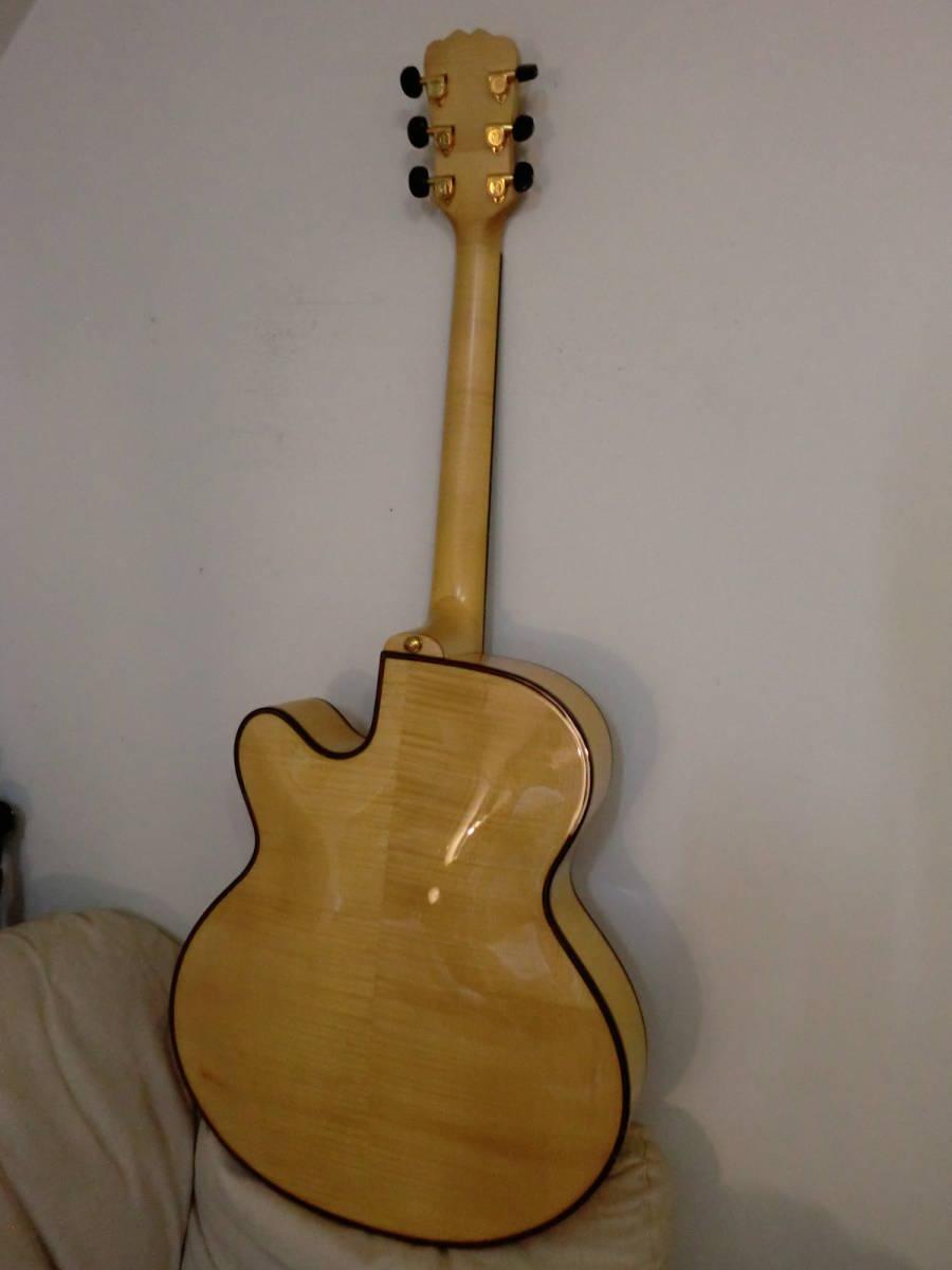 レア!AYERS ピックギター/フルアコ/アーチトップ オール単板 美品 値下げ交渉有り_画像4