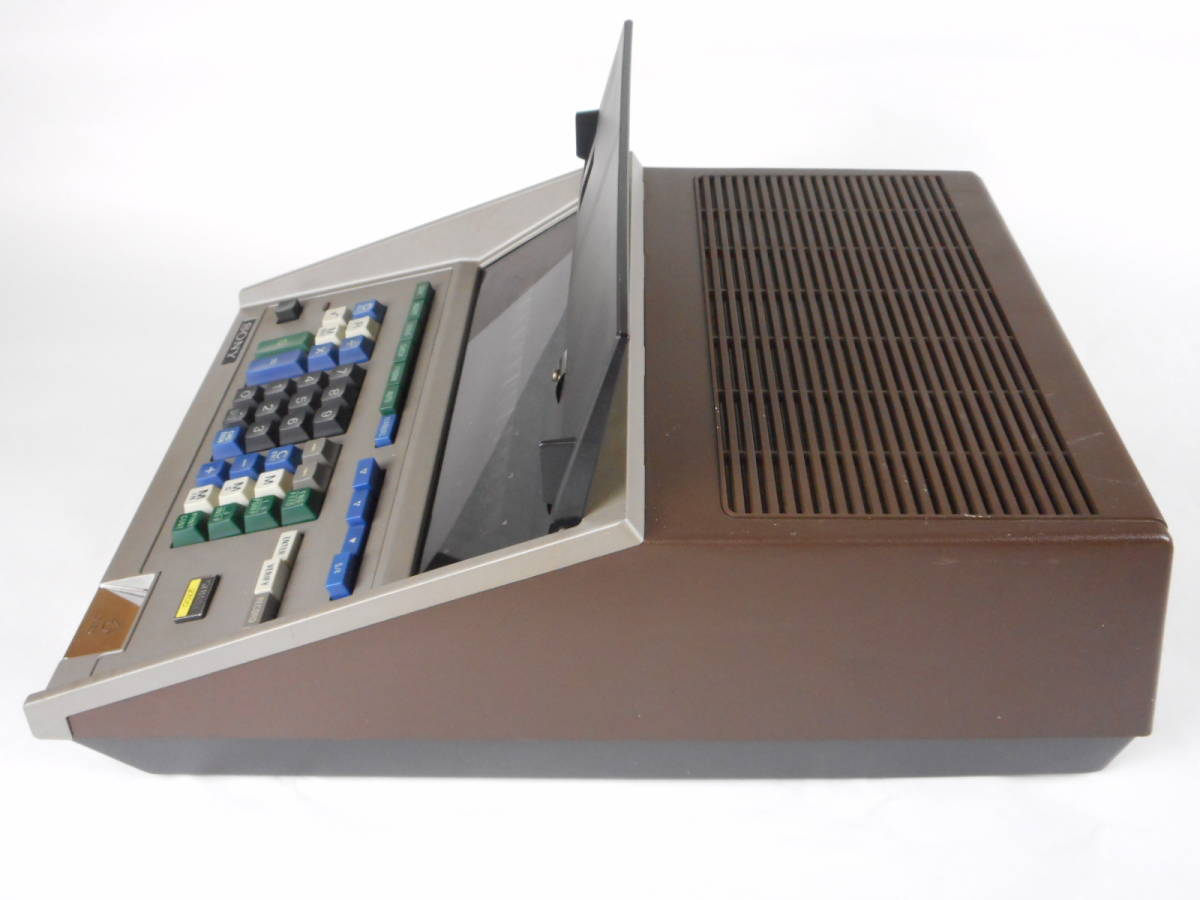 SONY SOBAX ICC-2700 MICRO COMPUTER ソニー マイクロコンピューター_画像3