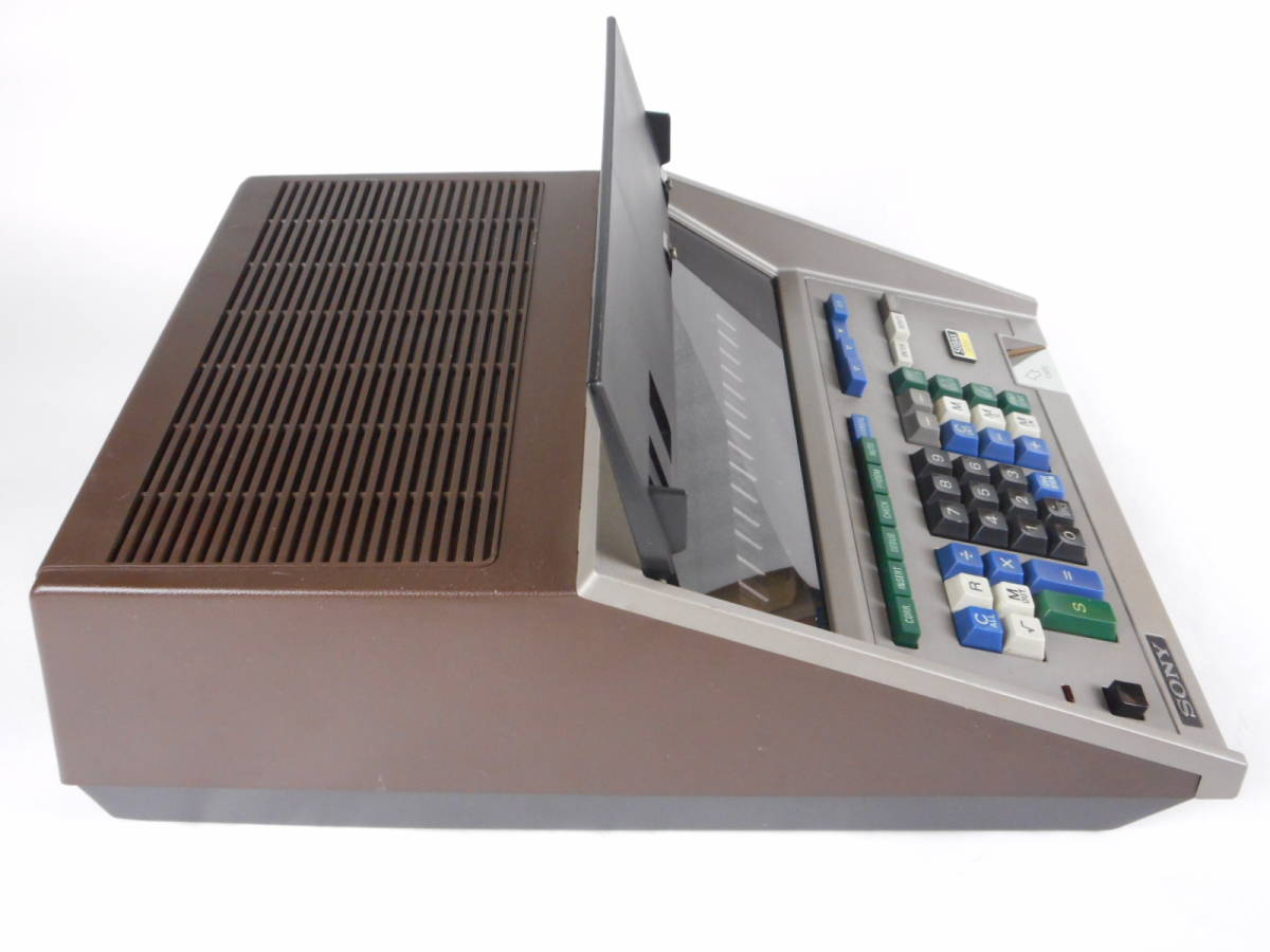 SONY SOBAX ICC-2700 MICRO COMPUTER ソニー マイクロコンピューター_画像4