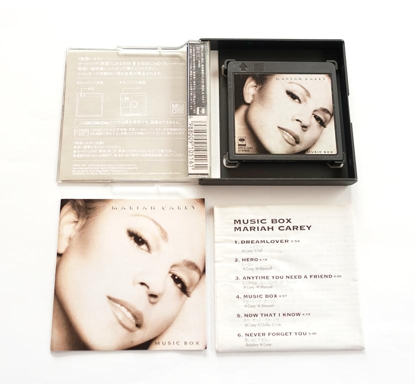 Bildergebnis fÃr mini disc Mariah Carey music box
