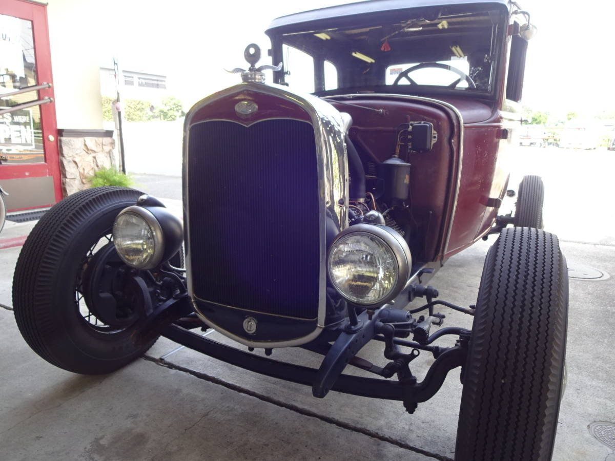 ★1931 Ford Model-A 5w Coupe Flathead HotRod ホットロッド★