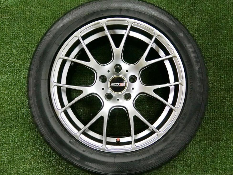 美品!DL SP SPORT MAXX 245/50R18・MOTEC軽量アルミ 4本 №T180719-4 BMW 5シリーズ・7シリーズ・/夏タイヤ・モーテック_画像7