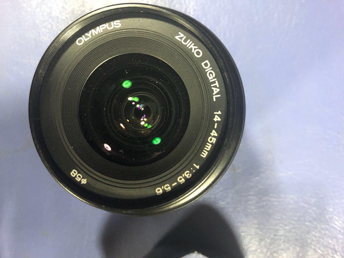 OLYMPUS E-300 デジタル一眼レフカメラ ボディ+レンズ 14-45㎜ 1:3.5-5.6_画像2