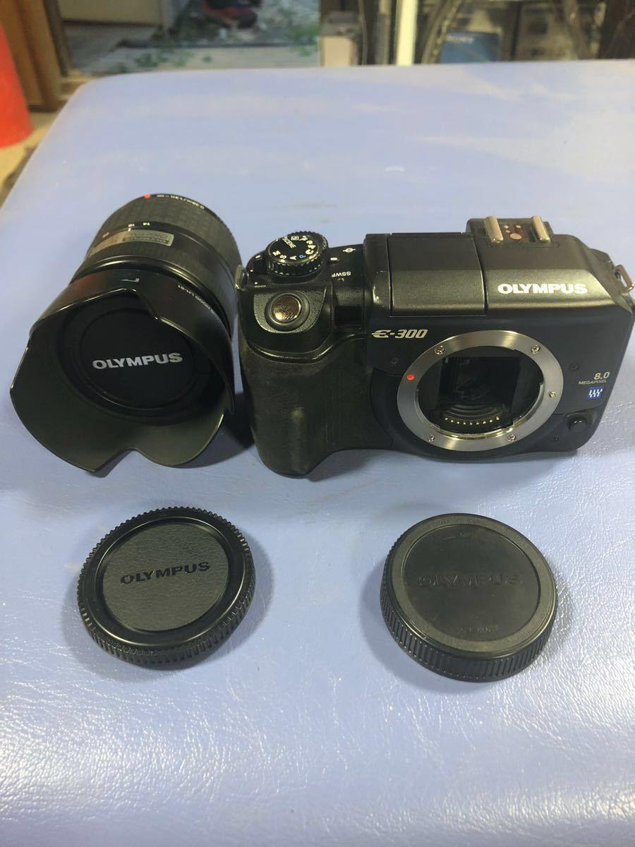 OLYMPUS E-300 デジタル一眼レフカメラ ボディ+レンズ 14-45㎜ 1:3.5-5.6