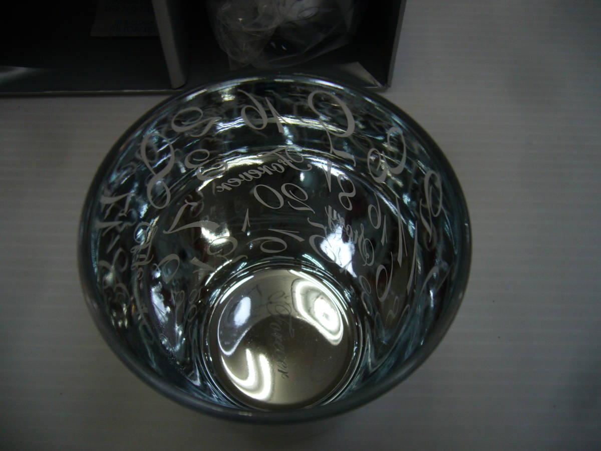 D406★Forever R&B ペアグラス ロックグラス 酒器 コップ アペックスハート★未使用品_画像3
