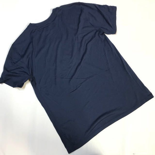 新品 ナイキ NIKE NBA クリーブランド キャバリアーズ ES SWOOSH 半袖Tシャツ 紺黄 L_画像2
