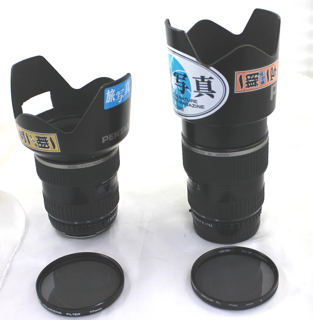 【PENTAX】ペンタックス 中判カメラ 645N / 45-85mm、80-160mm レンズ2本セット_画像6