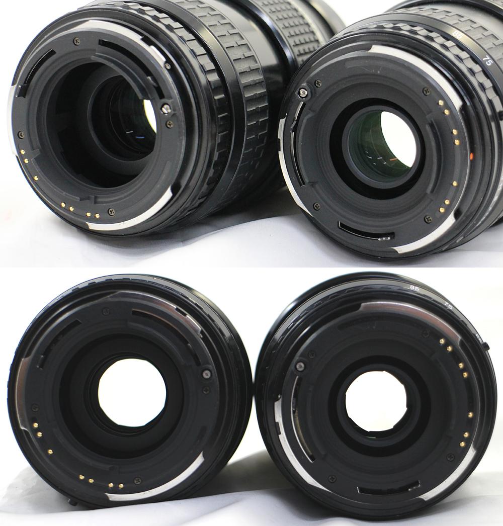 【PENTAX】ペンタックス 中判カメラ 645N / 45-85mm、80-160mm レンズ2本セット_画像8