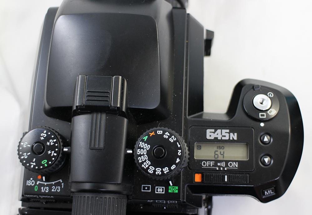 【PENTAX】ペンタックス 中判カメラ 645N / 45-85mm、80-160mm レンズ2本セット_画像10