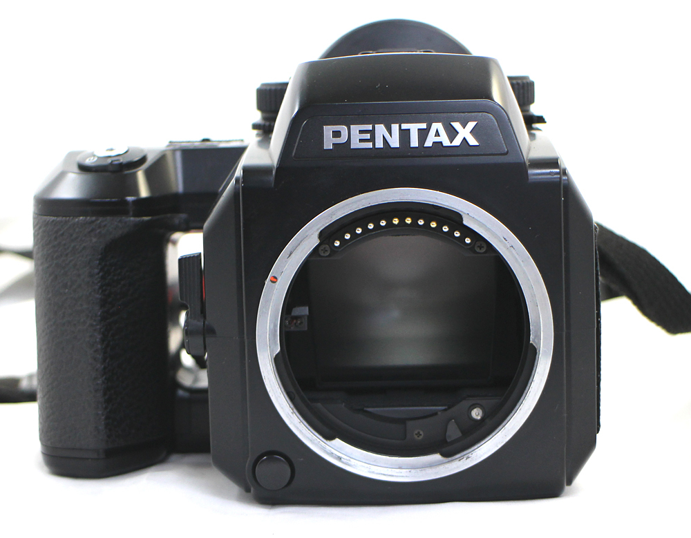 【PENTAX】ペンタックス 中判カメラ 645N / 45-85mm、80-160mm レンズ2本セット_画像2
