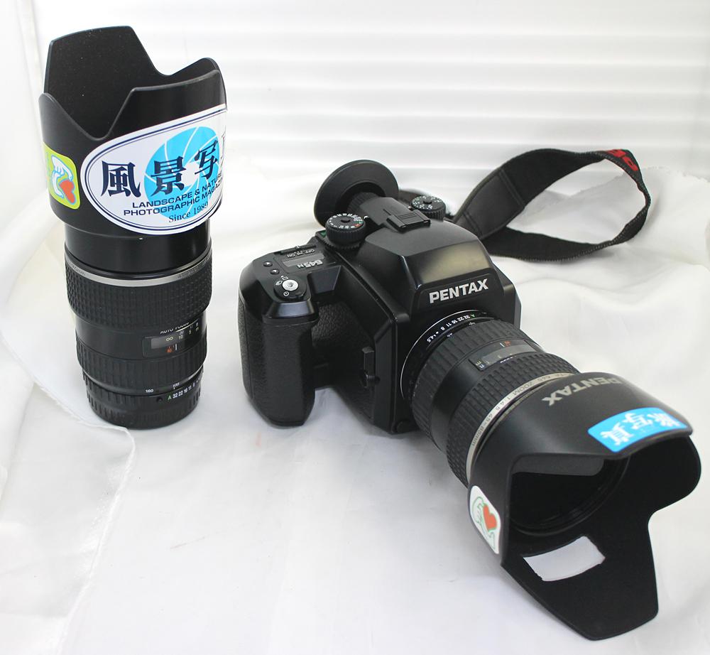 【PENTAX】ペンタックス 中判カメラ 645N / 45-85mm、80-160mm レンズ2本セット
