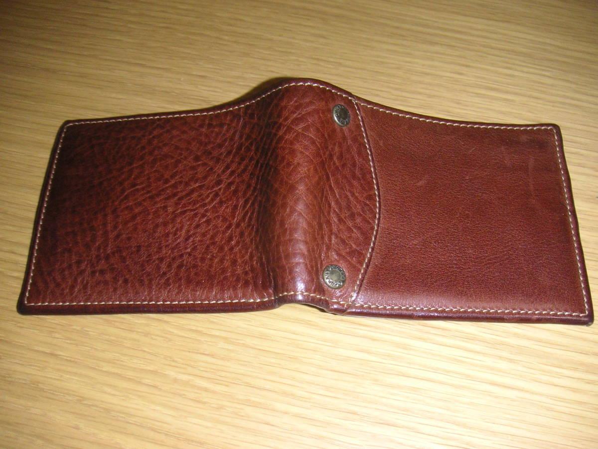 極美品 グルカ 2つ折り財布 GHURKA RRL_画像2