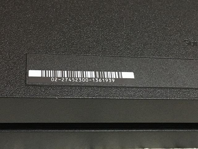 PS4 本体 中古 500GB CUH-1200A ジェット・ブラック 動作良好 純正 プレステ4 SONY 黒 19961_画像6