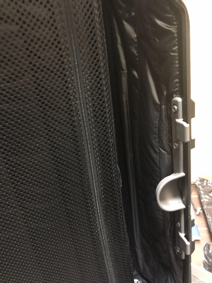 新品 確実本物 確実正規品 1円~ モンクレール リモワ キャリーケース スーツケース MONCLER 電子タグ E-Tag アルミニウム 67L 大 _画像10
