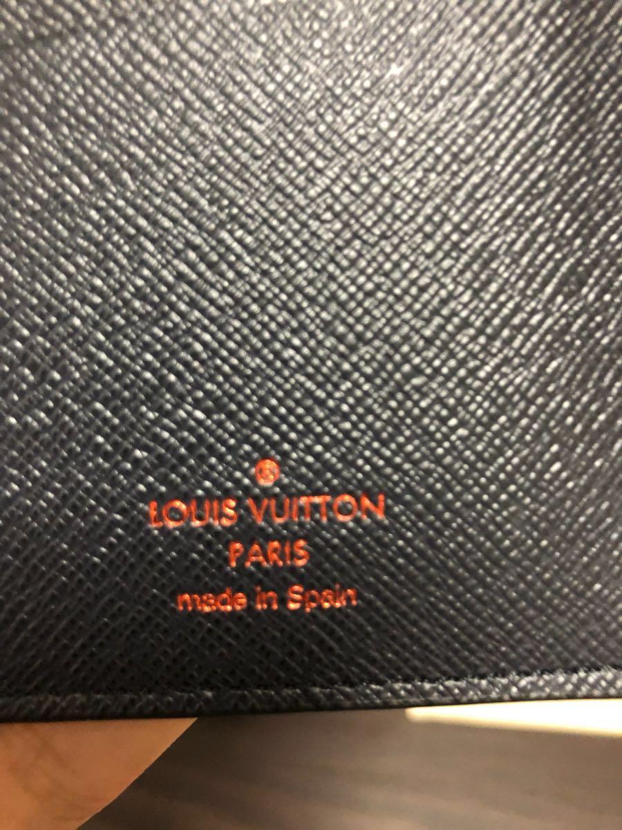 新品 確実本物 確実正規品 LOUIS VUITTON ルイヴィトン 限定 ポルトフォイユ・ブラザ アップサイドダウン 財布 長財布_画像6