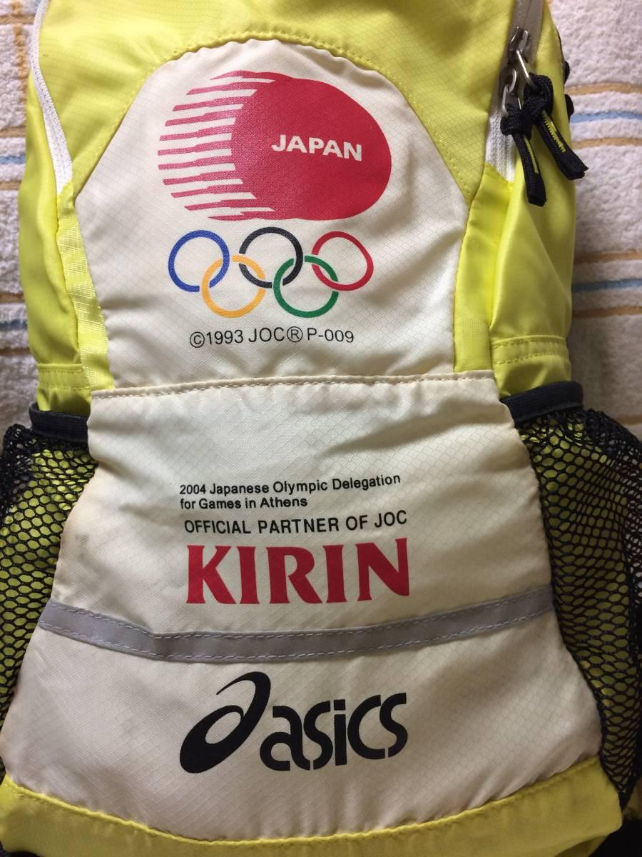 (H)2004 Athens Olympic KIRIN ASICS リュック_画像3