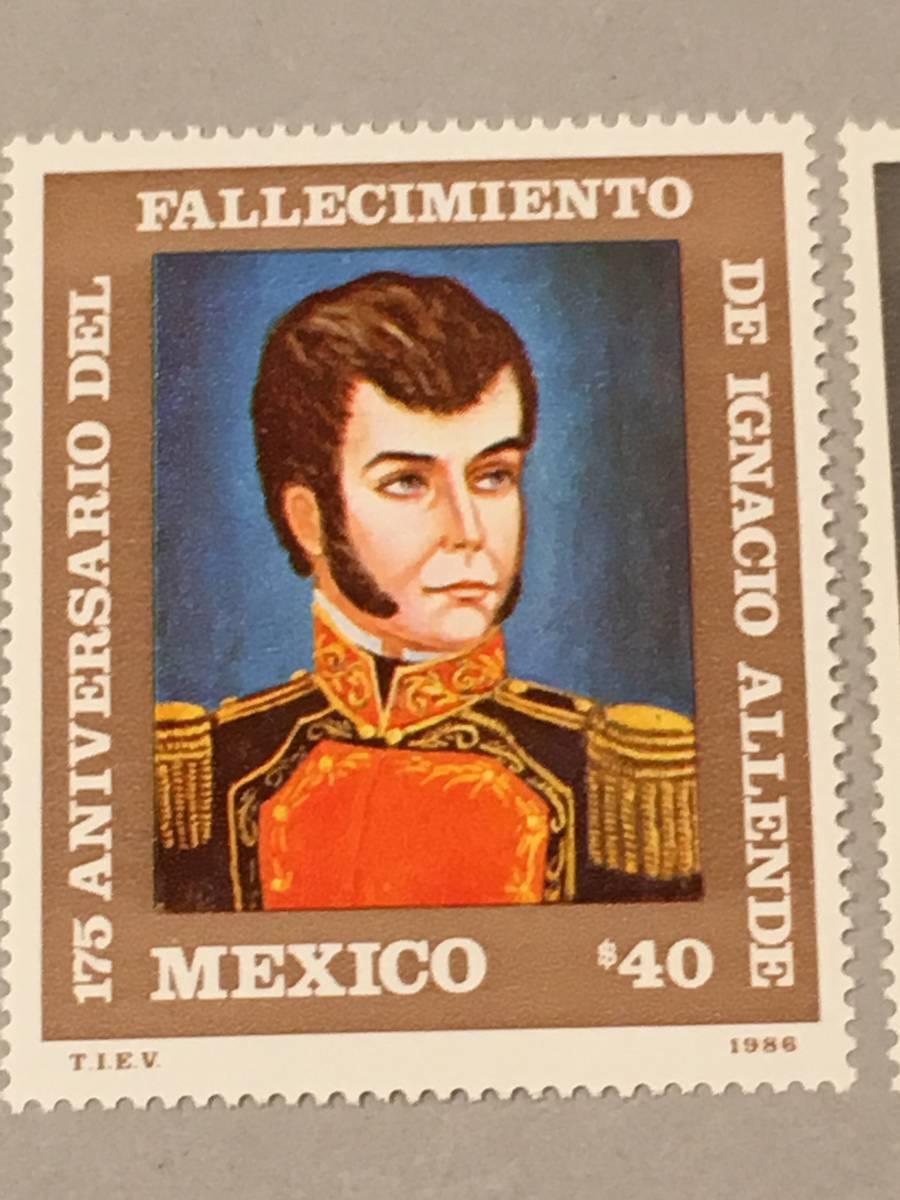 メキシコ 1986 革命の偉人 死去175周年_画像2