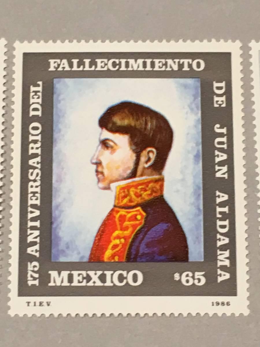 メキシコ 1986 革命の偉人 死去175周年_画像3