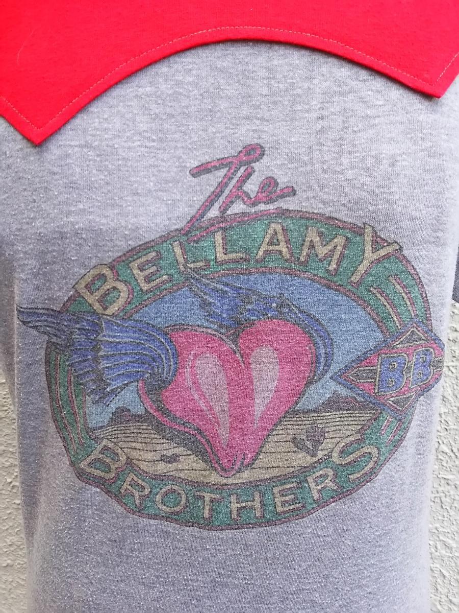 即決■ベラミーブラザーズ The BELLAMY BROTHERS/ビンテージ/ヴィンテージ/古着/ロック/バンド/Tシャツ/
