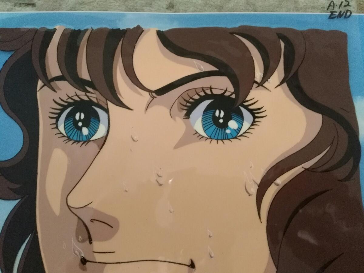 【セル画】 エースをねらえ(岡ひろみ) セル画 動画付、コピー背景付_画像3