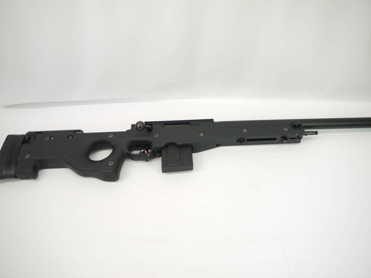 076-0549 東京マルイ No.6 L96AWS ブラック スナイパー ライフル ボルトアクション エアガン スコープ付き_画像2