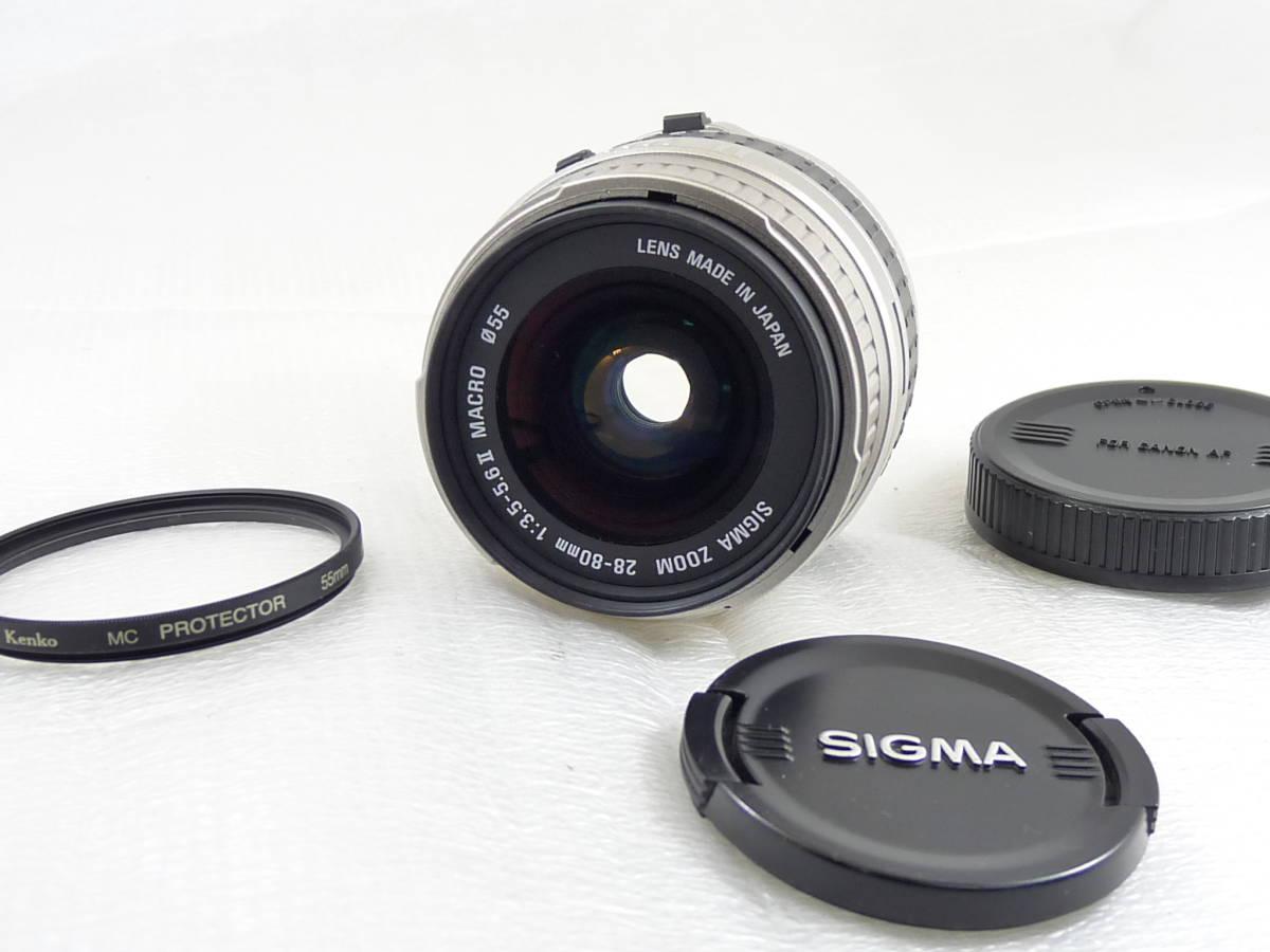 SIGMA ZOOM 28-80mm F3.5-5.6ⅡMACRO (キャノンEOSマウント)