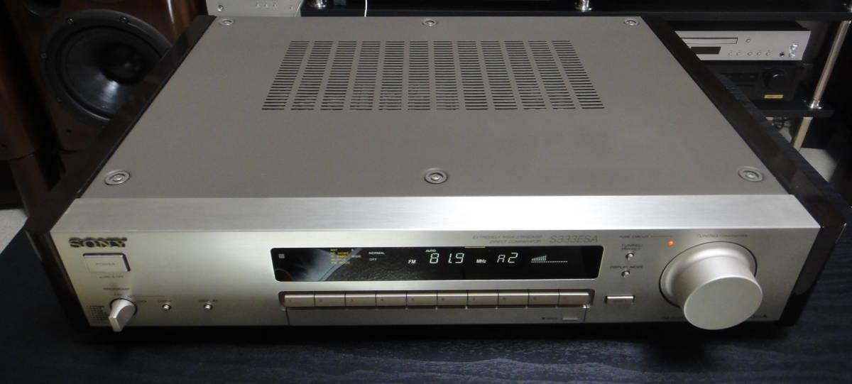 ★ SONY ST-S333ESA FM/AMチューナー 美品 直接手渡し可 ★_画像3