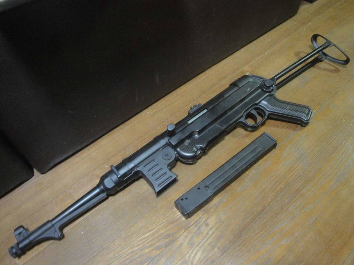AGM製 MP40 電動ガン セレクター除去 実動 塗装剥げ有り 重量増加 重くて武骨なシュマイザー_画像8