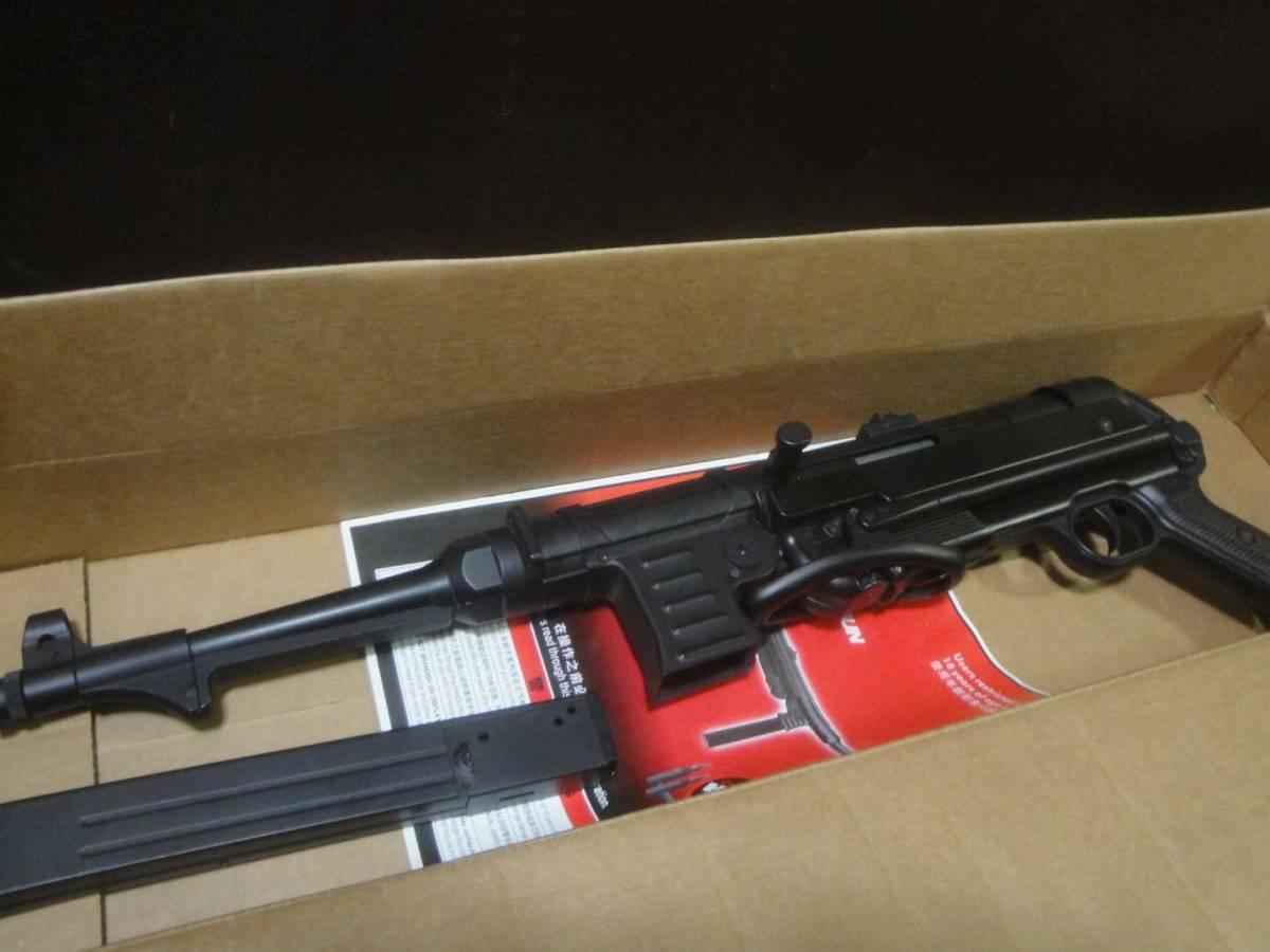 AGM製 MP40 電動ガン セレクター除去 実動 塗装剥げ有り 重量増加 重くて武骨なシュマイザー_画像10